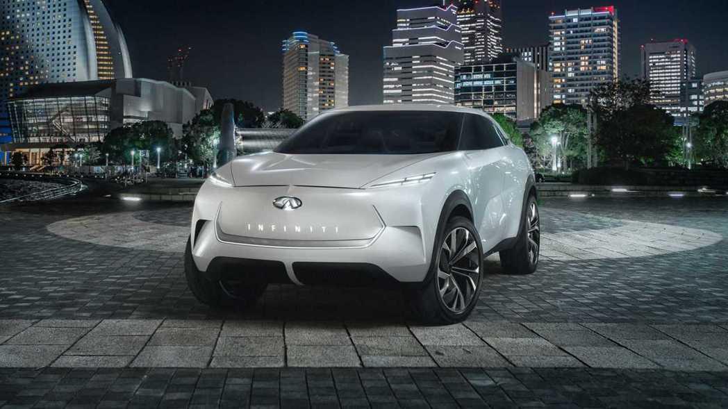 INFINITI QX Inspiration 概念車。 摘自INFINITI