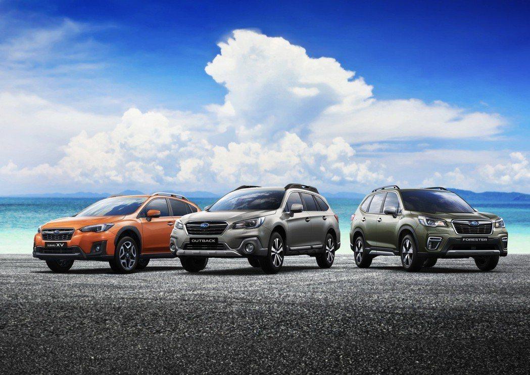 SUBARU台灣意美汽車於2018年再次逆勢上揚締造佳績,以全年度總銷售量8,0...