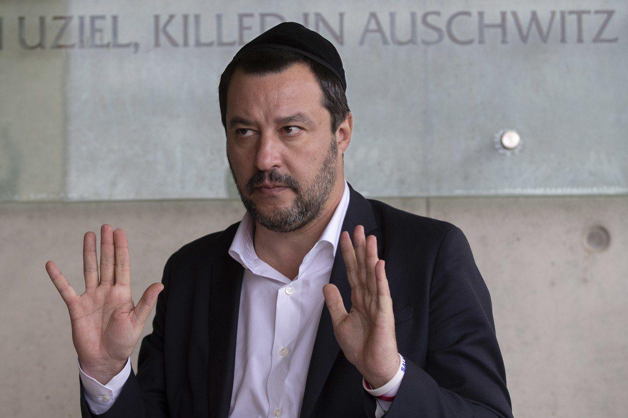 義大利副總理兼內政部長薩爾維尼近日帶頭表態支持法國「黃背心」運動。歐新社