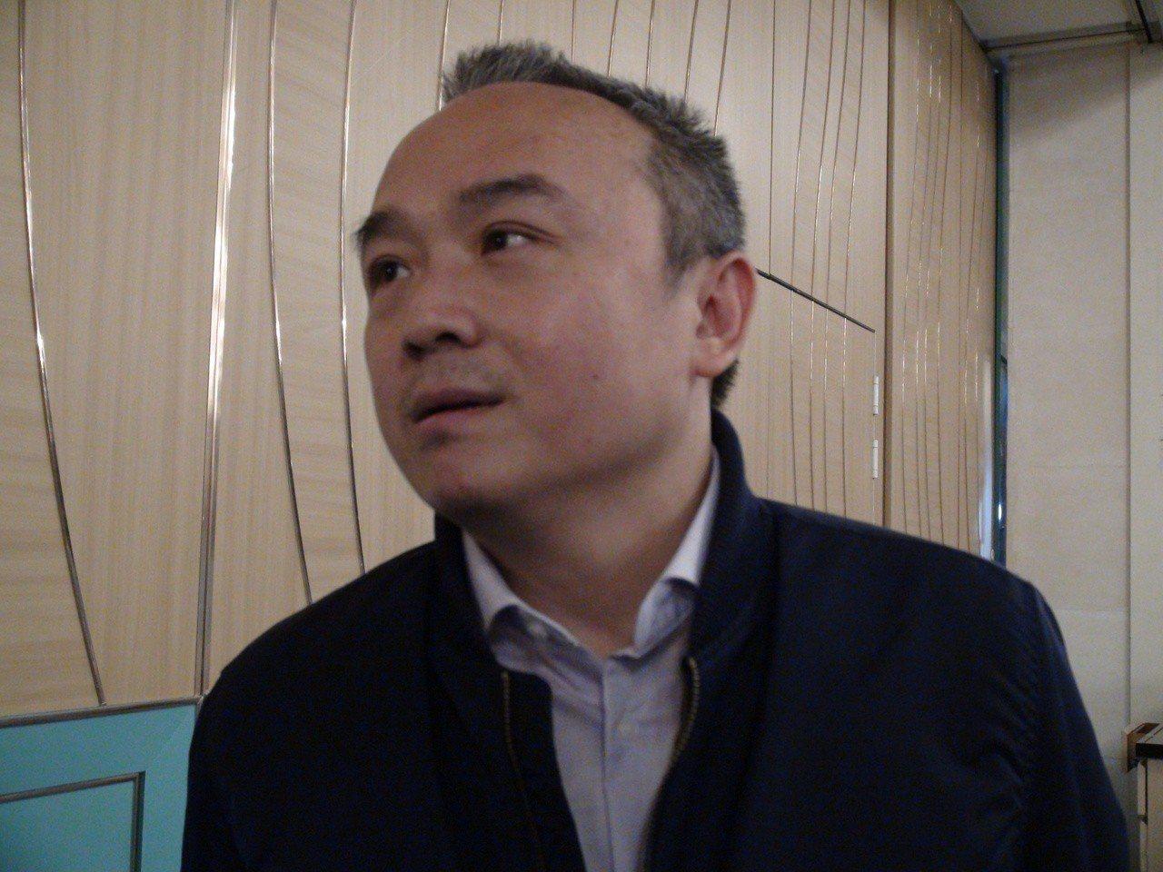 高雄市觀光局長潘旭透露要聘瓊瑤擔任高雄市愛情產業鏈總顧問。記者謝梅芬/攝影