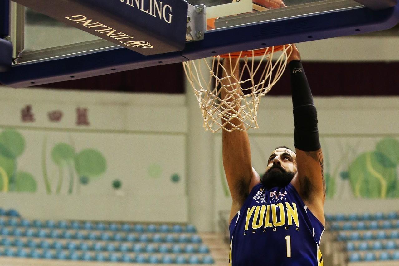 裕隆洋將桑尼獲選為SBL單月最佳球員。圖/中華籃協提供
