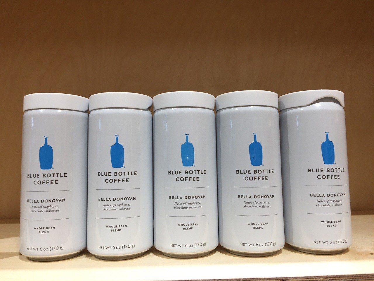 藍瓶咖啡確定快閃微風南山,沒有手沖、只賣罐裝咖啡。記者羅建怡/攝影