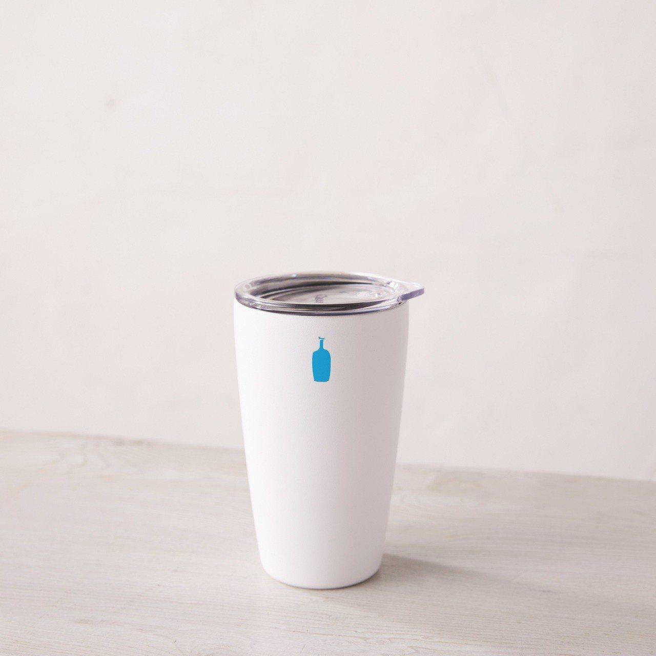 微風南山開幕尊榮禮,2/5~2/20消費滿額可獲得藍瓶咖啡隨身杯。圖/微風提供