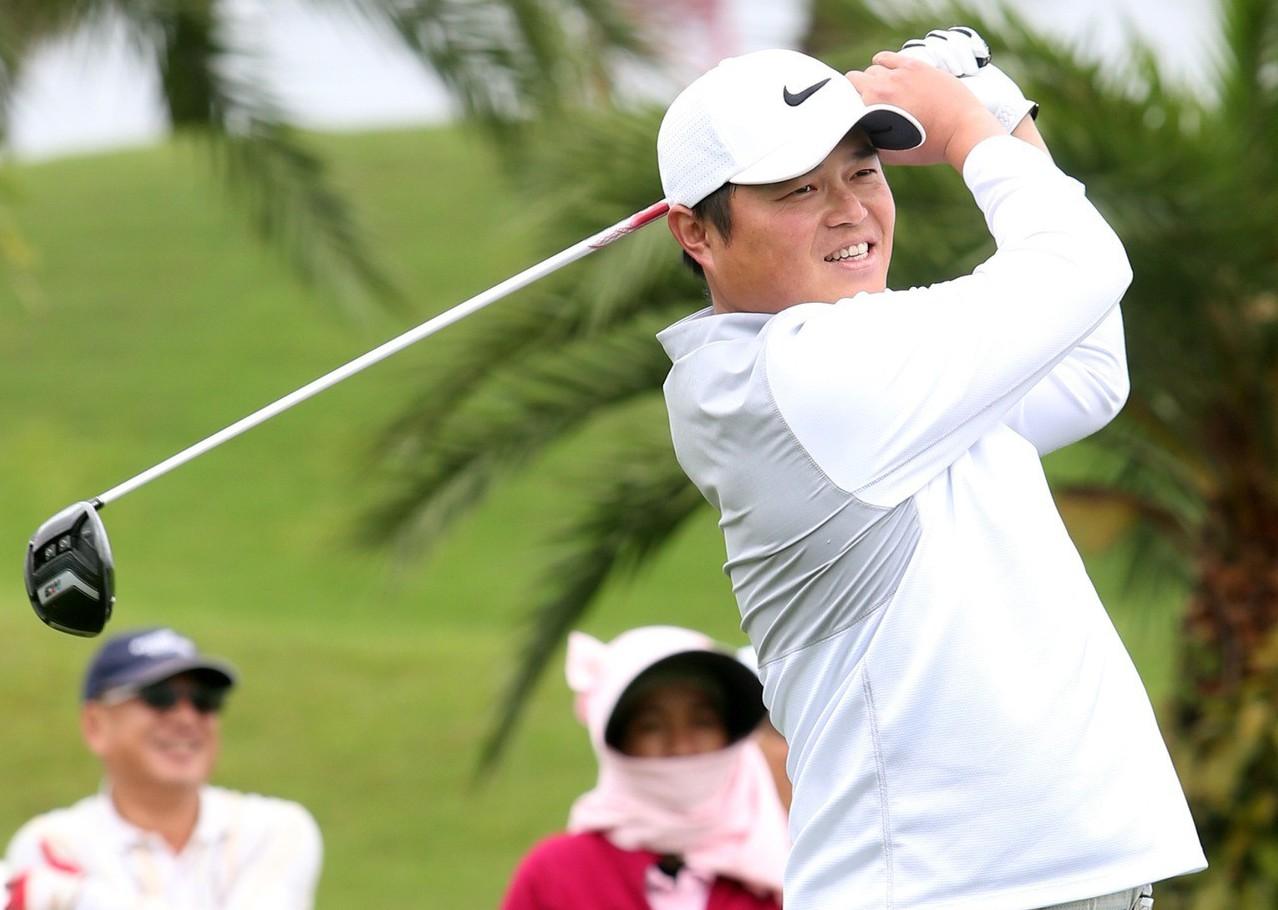 胡金龍熱愛打高爾夫,和潘政琮也是好友。 聯合報系資料照