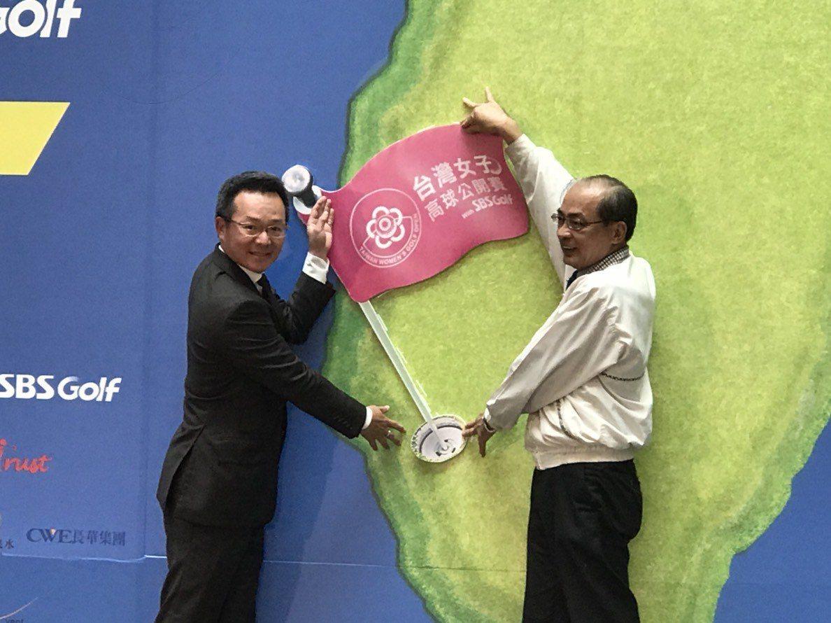 高協理事長與高雄市洪東煒副市長。 高協提供