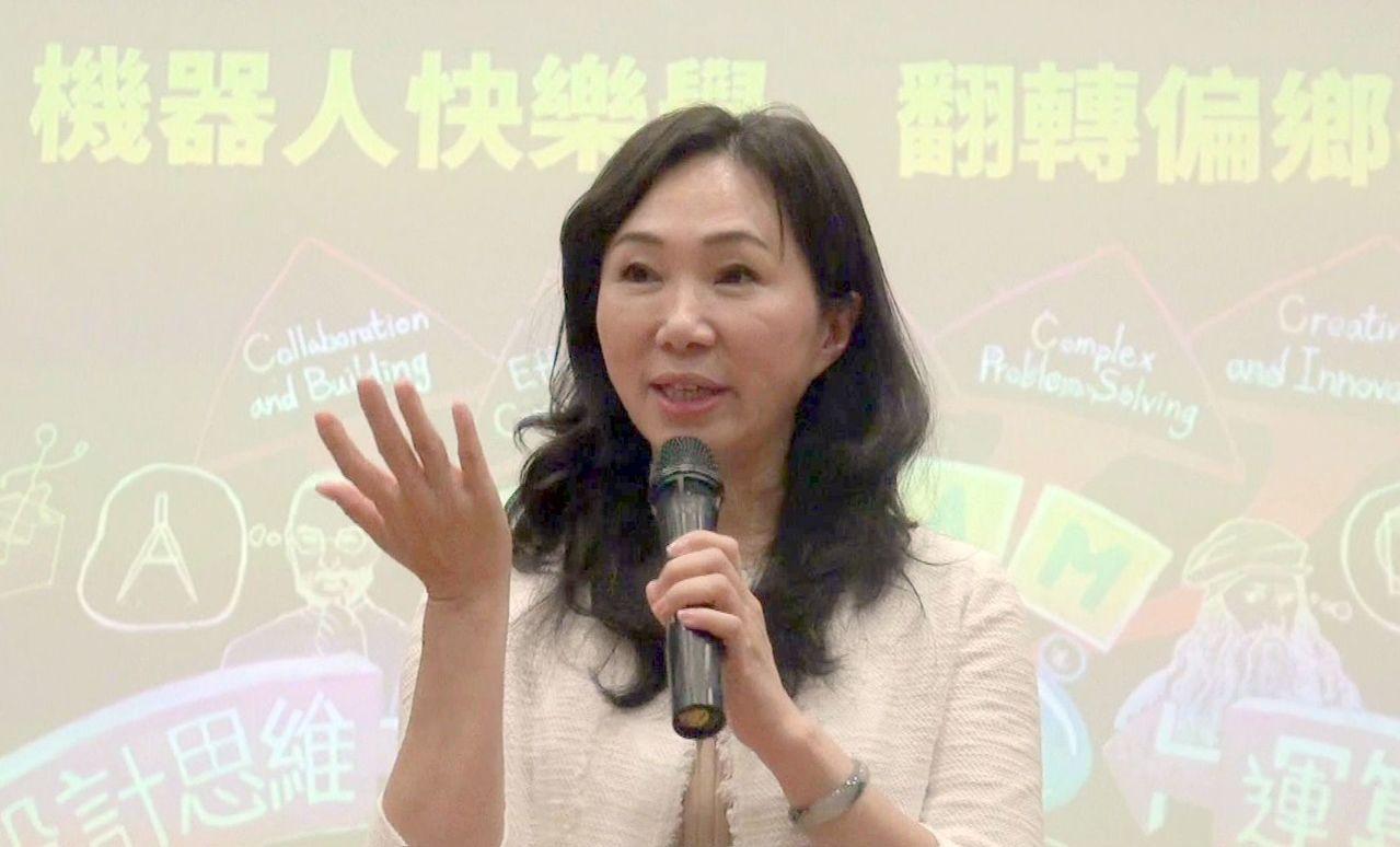 高雄市長夫人李佳芬。記者王昭月/攝影