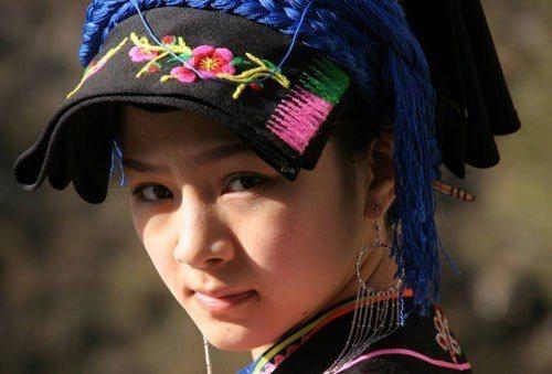 清純靈動感動大陸網友的「天仙妹妹」爾瑪依娜。 (資料照片)