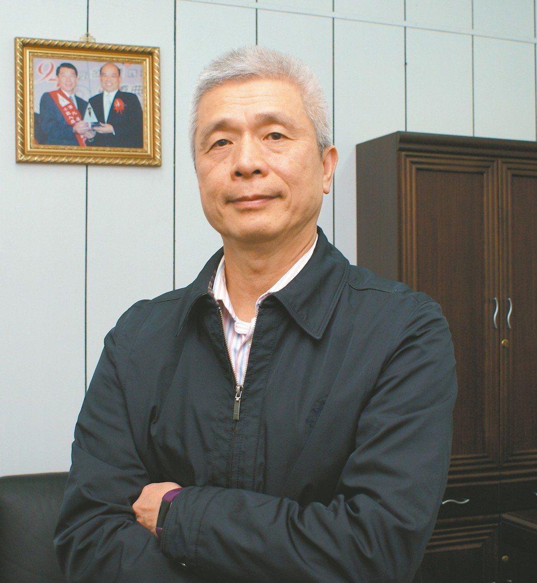 艾格瑪科技總經理夏明德。 吳青常/攝影