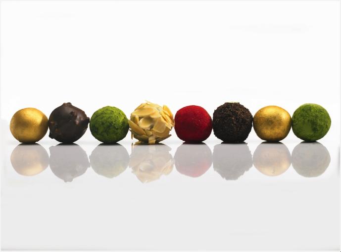 巧克力麻糬,餡中餡的美味讓味蕾驚豔。 一之軒/提供。