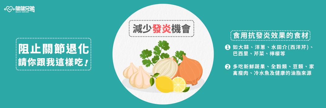 針對退化性三大飲食目標:補充蛋白質和水分。