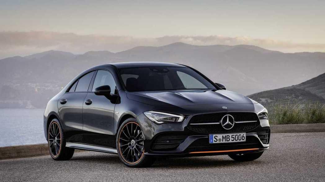 Mercedes-Benz CLA250 Edition 1。 摘自Merced...