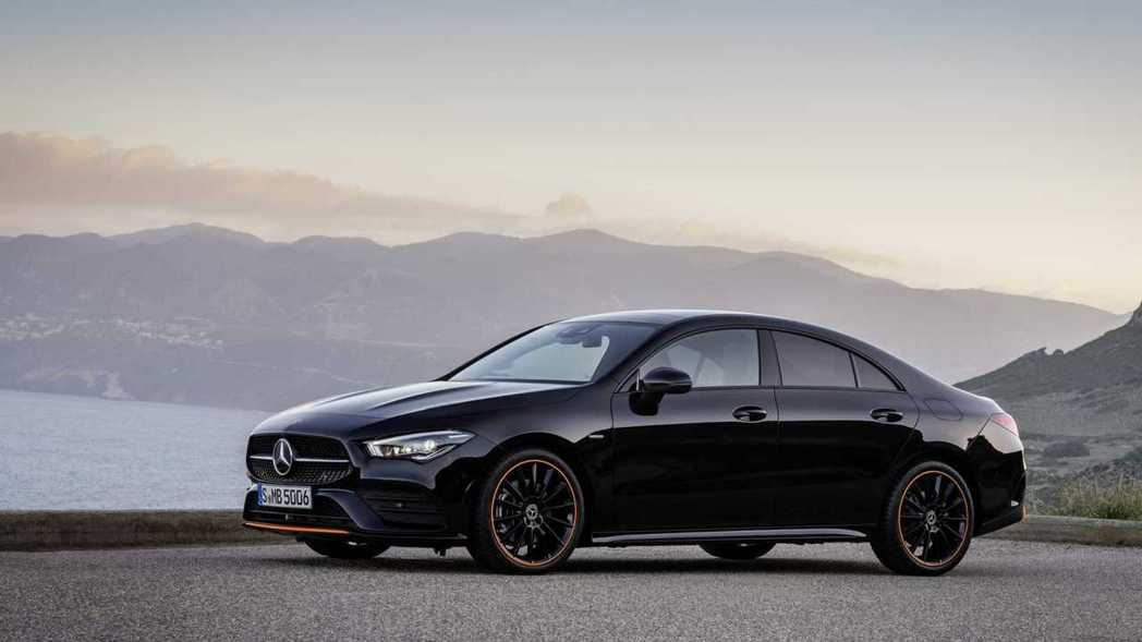 Mercedes-Benz CLA250 Edition 1。 摘自Mercedes