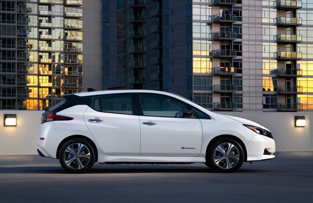 Nissan Leaf e+續航距離更是增加至364km。 摘自Nissan