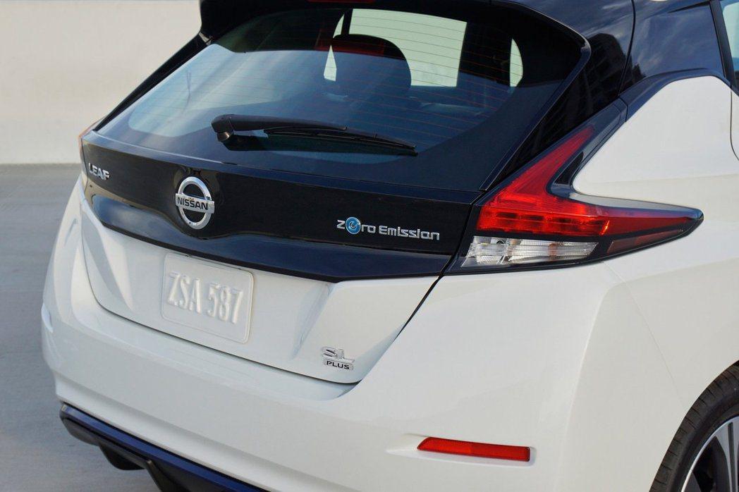 Nissan Leaf e+配置了具70kWh的快速充電座。 摘自Nissan