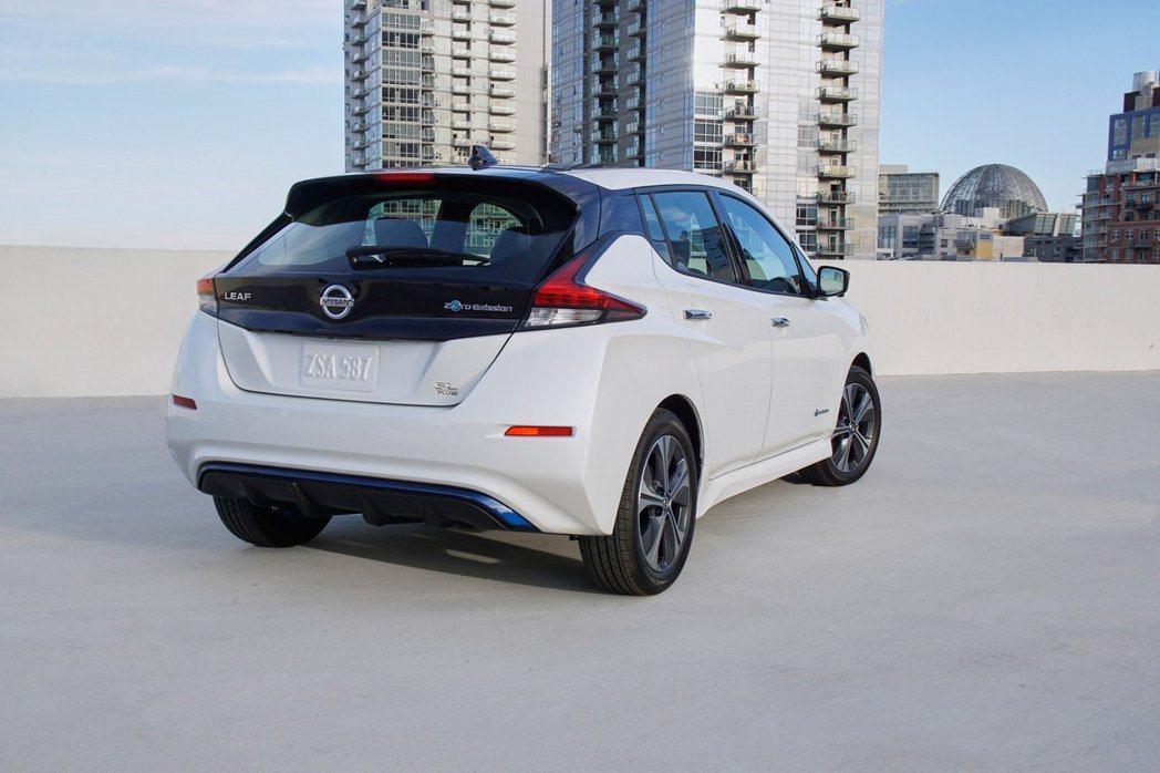 Nissan Leaf e+已率先在日本市場販售,隨後將會前進北美與歐洲市場。 摘自Nissan