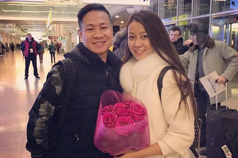 鄧俊和阮文映是一對網戀認識的夫妻。 圖擷自eva.vn