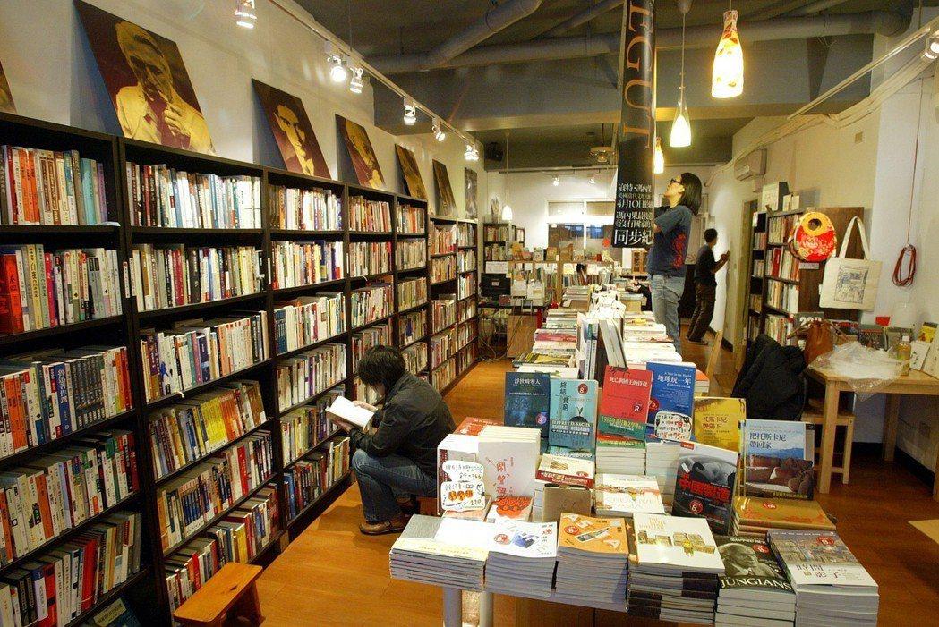 位於新北市永和區的獨立書店小小書房。 圖/聯合報系