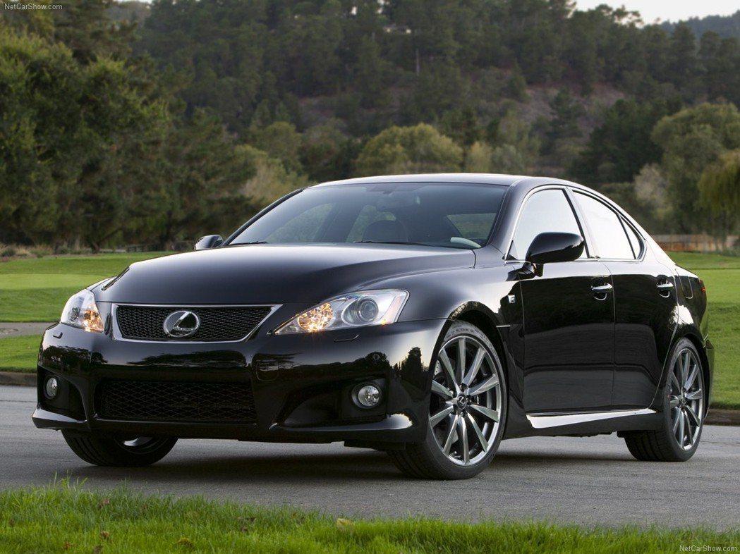 2007年發表的第一代Lexus IS F。 摘自Lexus