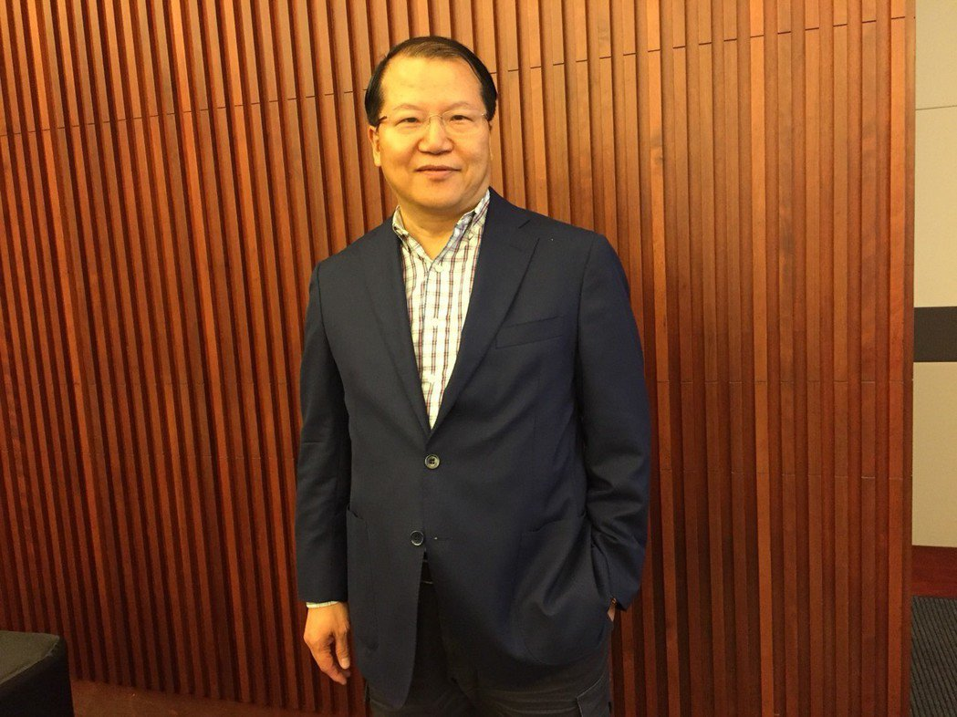 廣越總經理吳朝筆對未來營運及獲利漸趨樂觀。蘇璽文/攝影