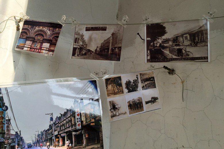 居民舉辦地方文史照片展。 圖/聯合報系資料照