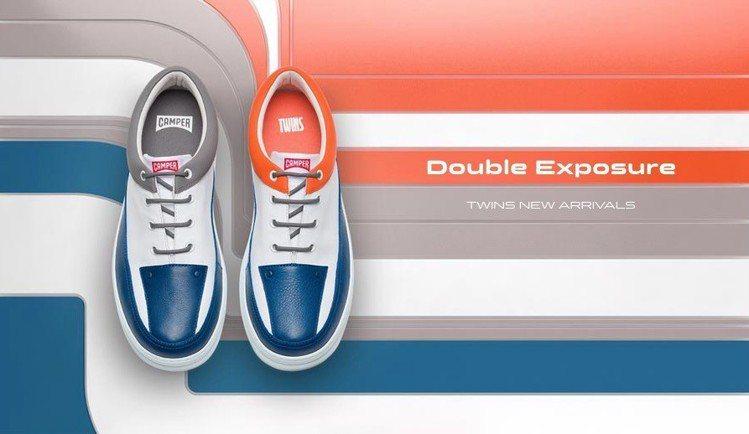 本季首波推薦TWINS系列鞋款(男女款),7,680元。圖/CAMPER提供