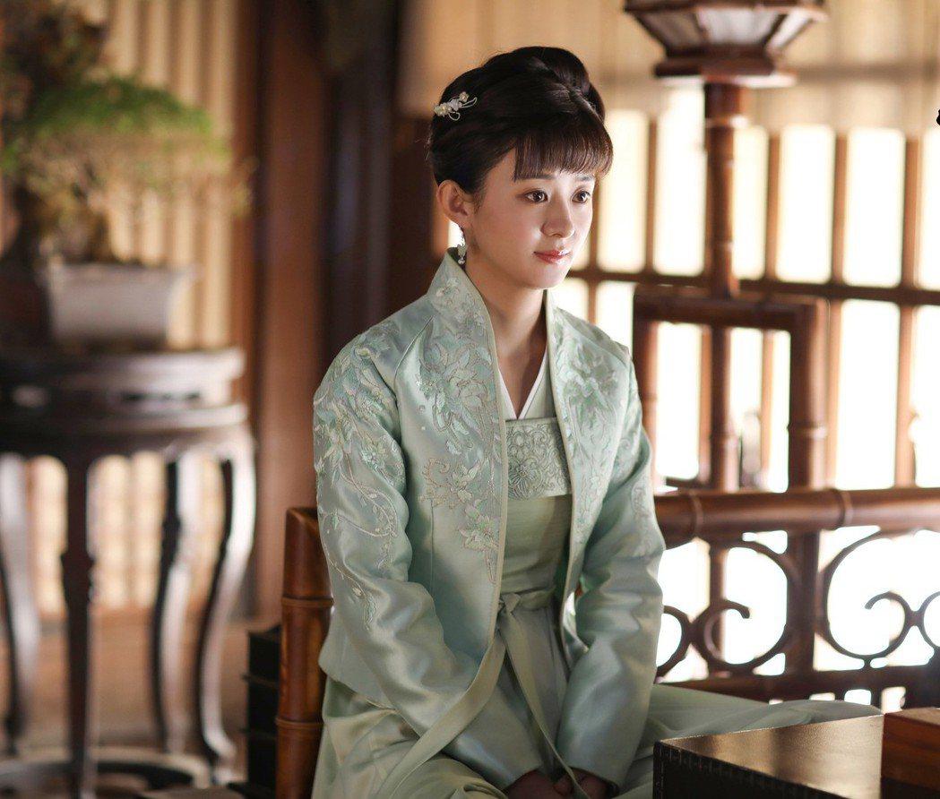 趙麗穎演出「知否知否應是綠肥紅瘦」受矚目。圖/LINE TV提供