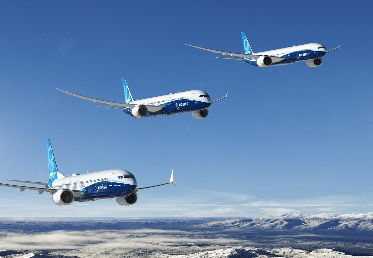 波音去年交付達806架民航飛機。圖/波音公司提供