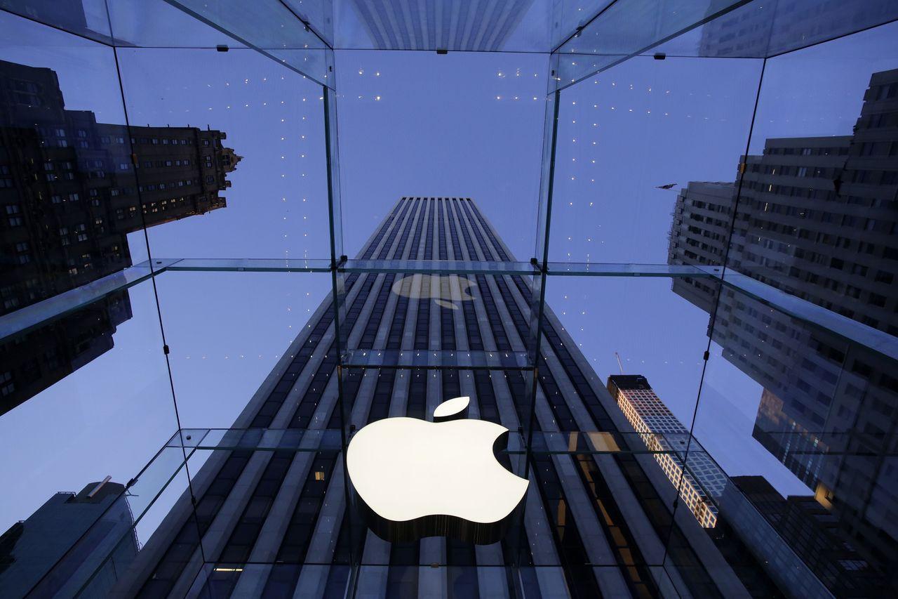 蘋果股價走勢是科技股風向球。美聯社