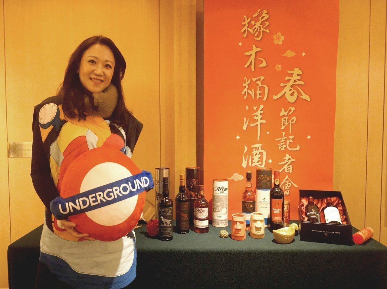 橡木桶洋酒總經理袁德珮認為,消費者愈來愈在意CP值,愛嘗鮮,因此富巧思的創意款容...