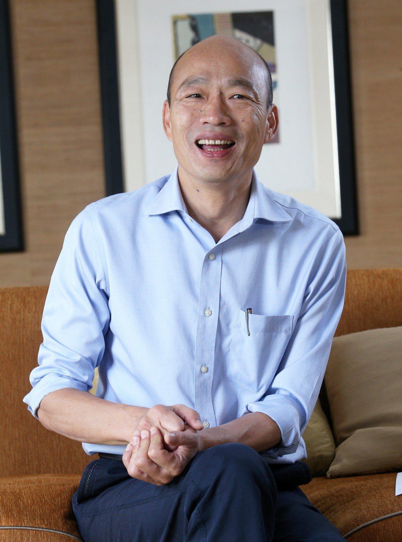 高市長韓國瑜曾說九二共識是兩岸交流基礎的定海神針,這說法今在中常會上被國民黨主席...
