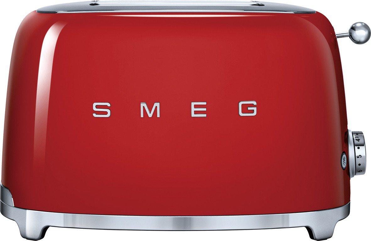 義大利美學廚房家電SMEG烤麵包機,APP線上免費兌換扣會員點數20,000點,...