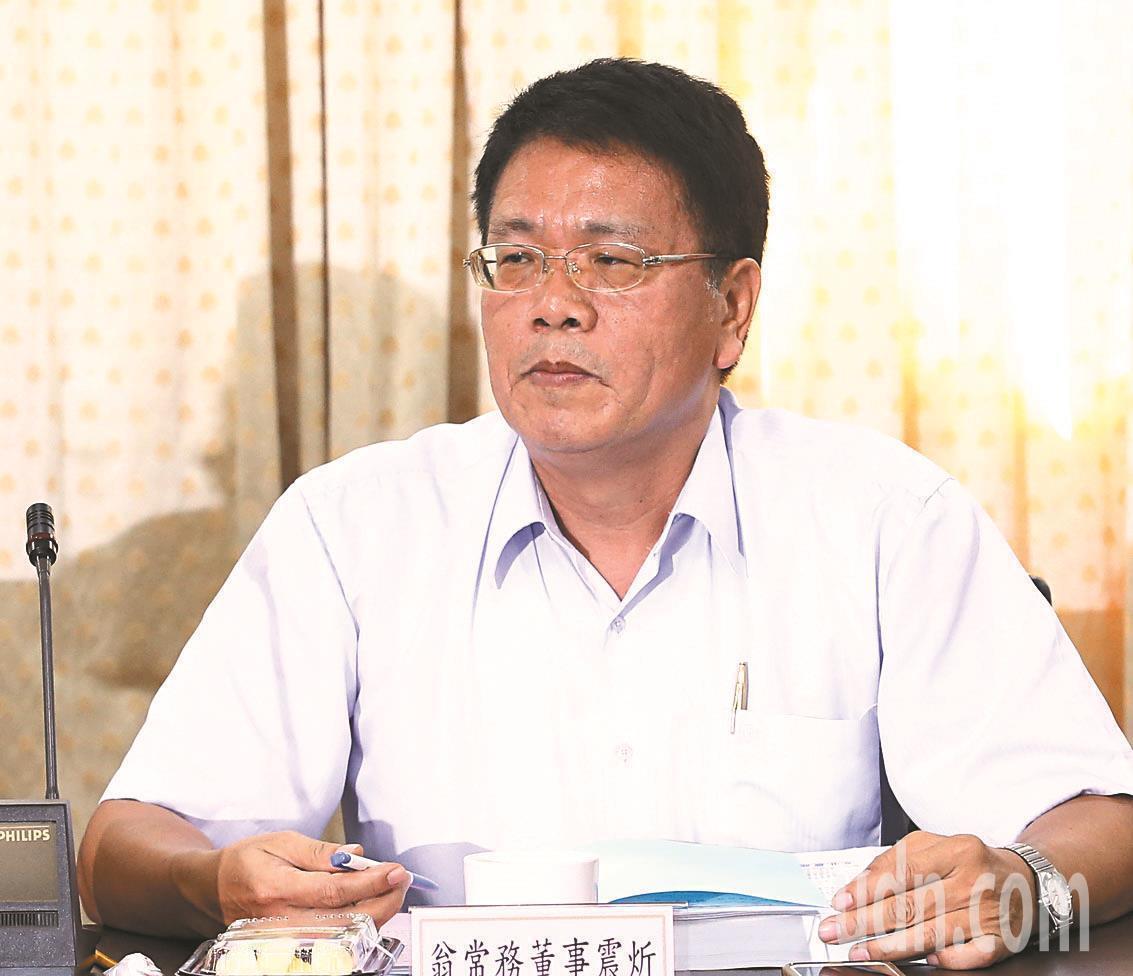 傳出農委會趕在內閣改組前提出農業金融局副局長翁震炘接任北農總經理。圖/報系資料照