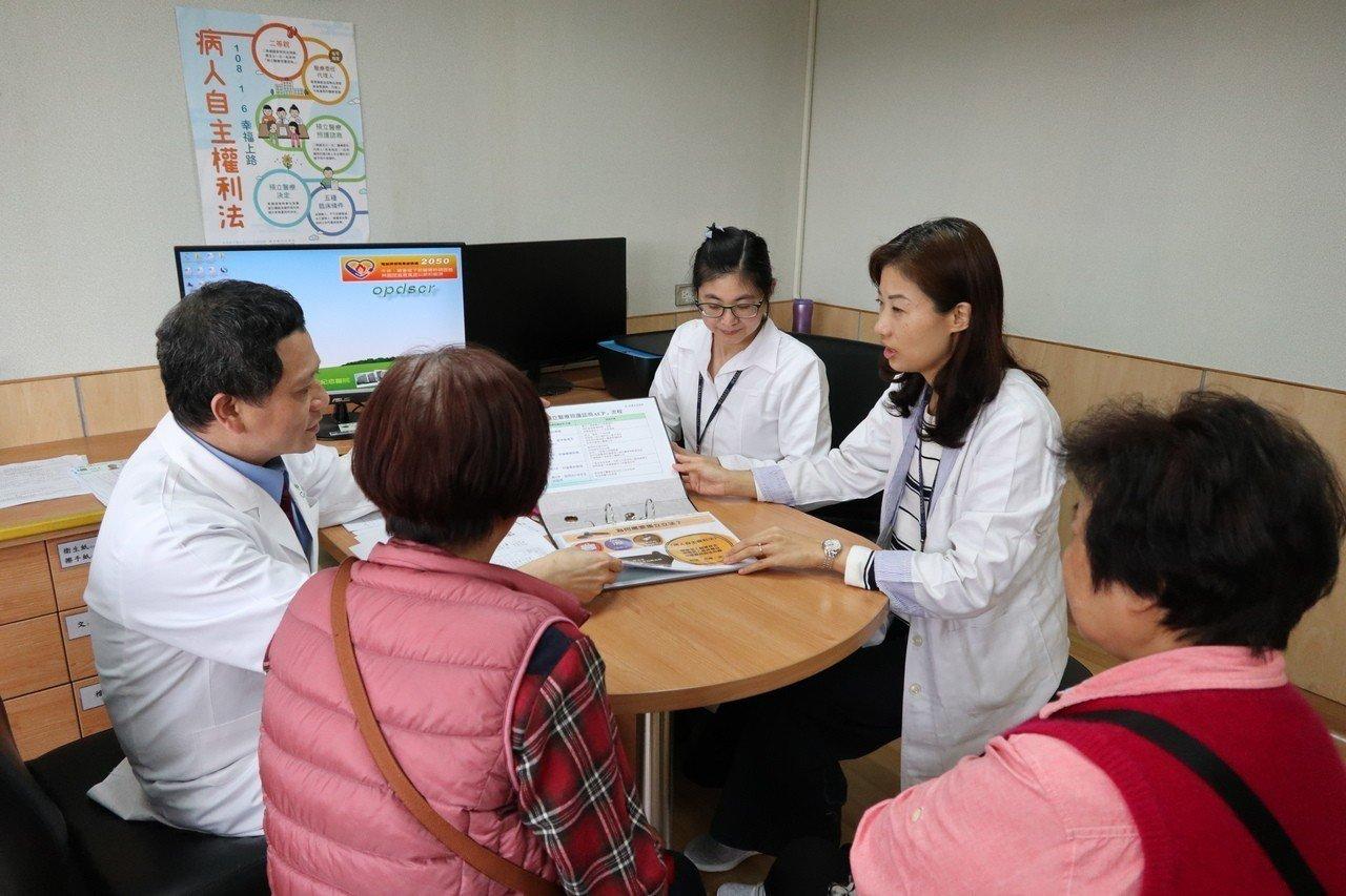 今年1月6日公布《病人自主權利法》,桃園市共有5家機構符合預立醫療諮商照護資格,...
