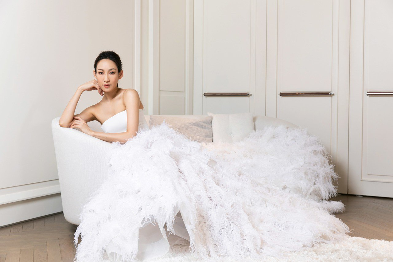 名模李曉涵展演示範Nicole + Felicia春夏Couture Colle...