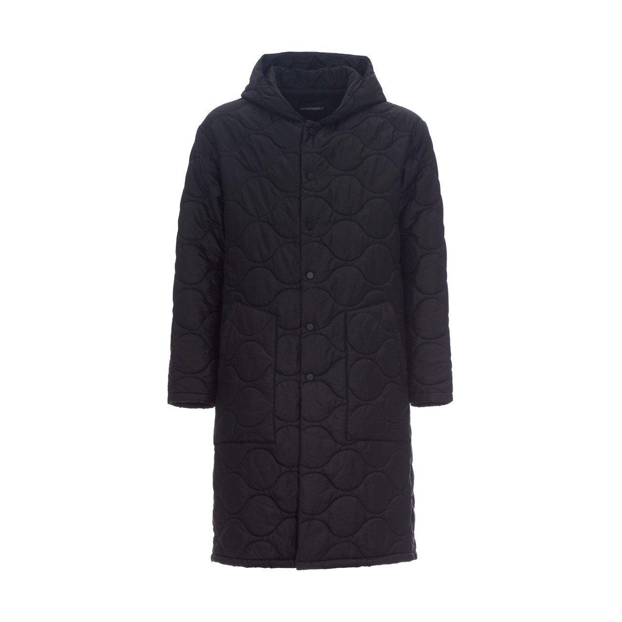 獨家數字系列16號大衣內搭羽絨外套12萬800元。圖/嘉裕西服提供