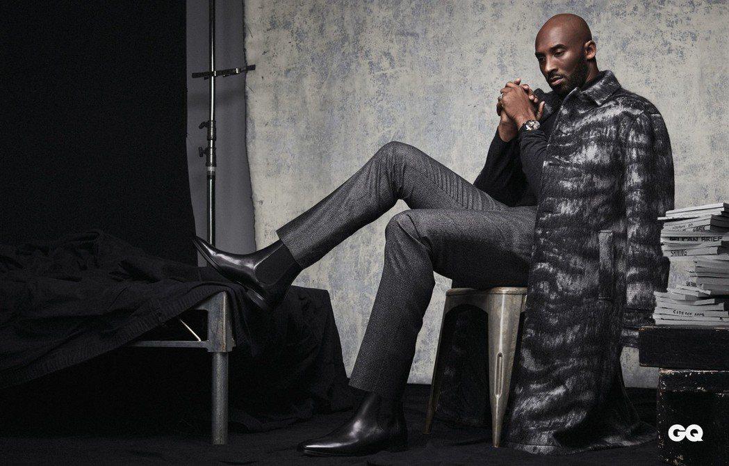 Kobe Bryant接受雜誌專訪。圖/GQ提供