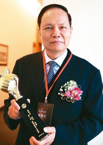 屏東科大食品科學系教授謝寶全,昨天獲頒第一屆國家產學大師獎。 記者侯永全/攝影