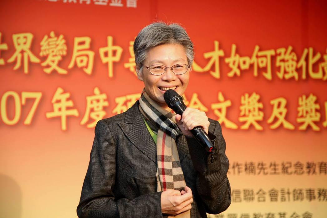 遠東集團新經濟發展總顧問李彬說,要擁抱改變,才能迎接各種挑戰。毛洪霖/攝影