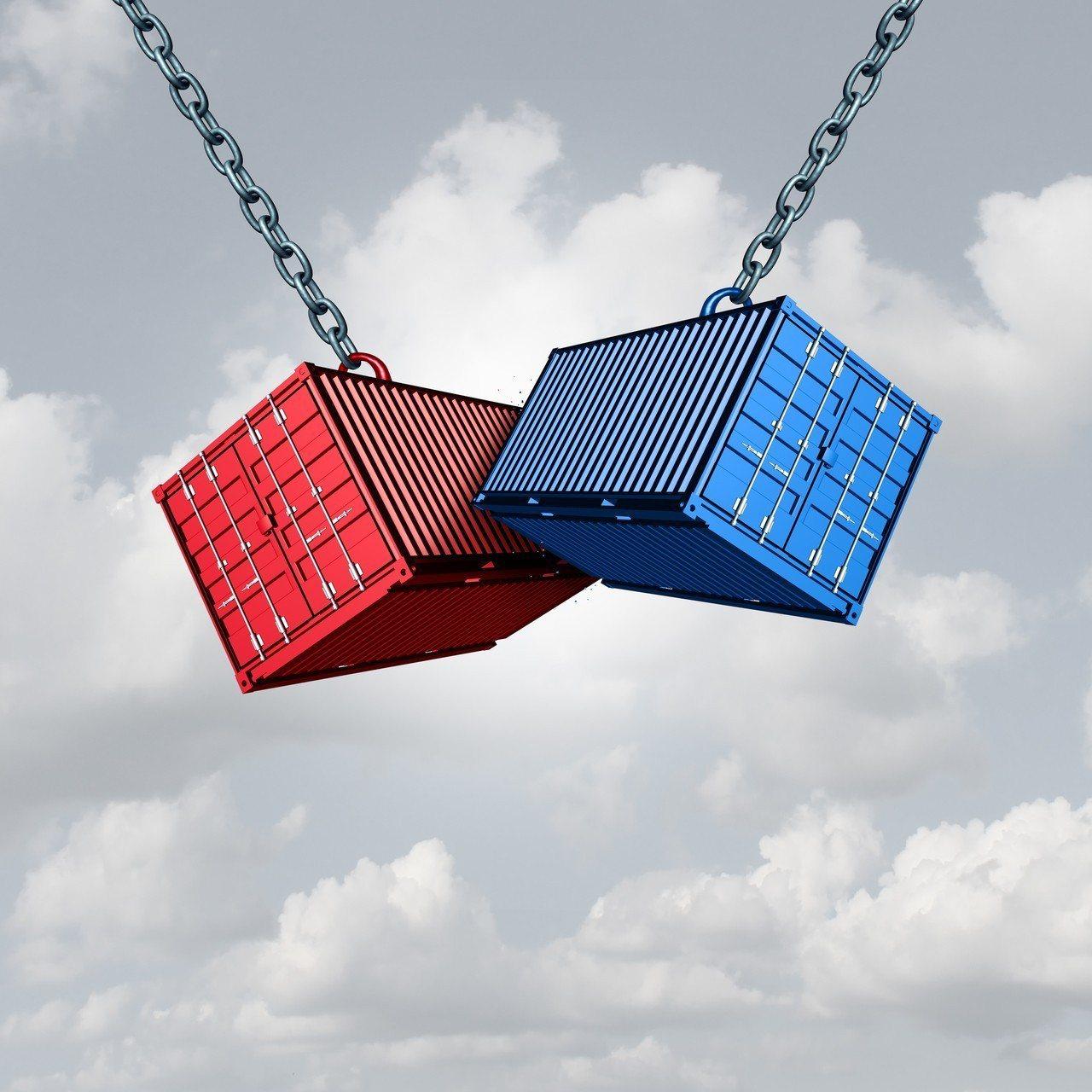 美國和中國身陷貿易戰。 圖/Ingimage