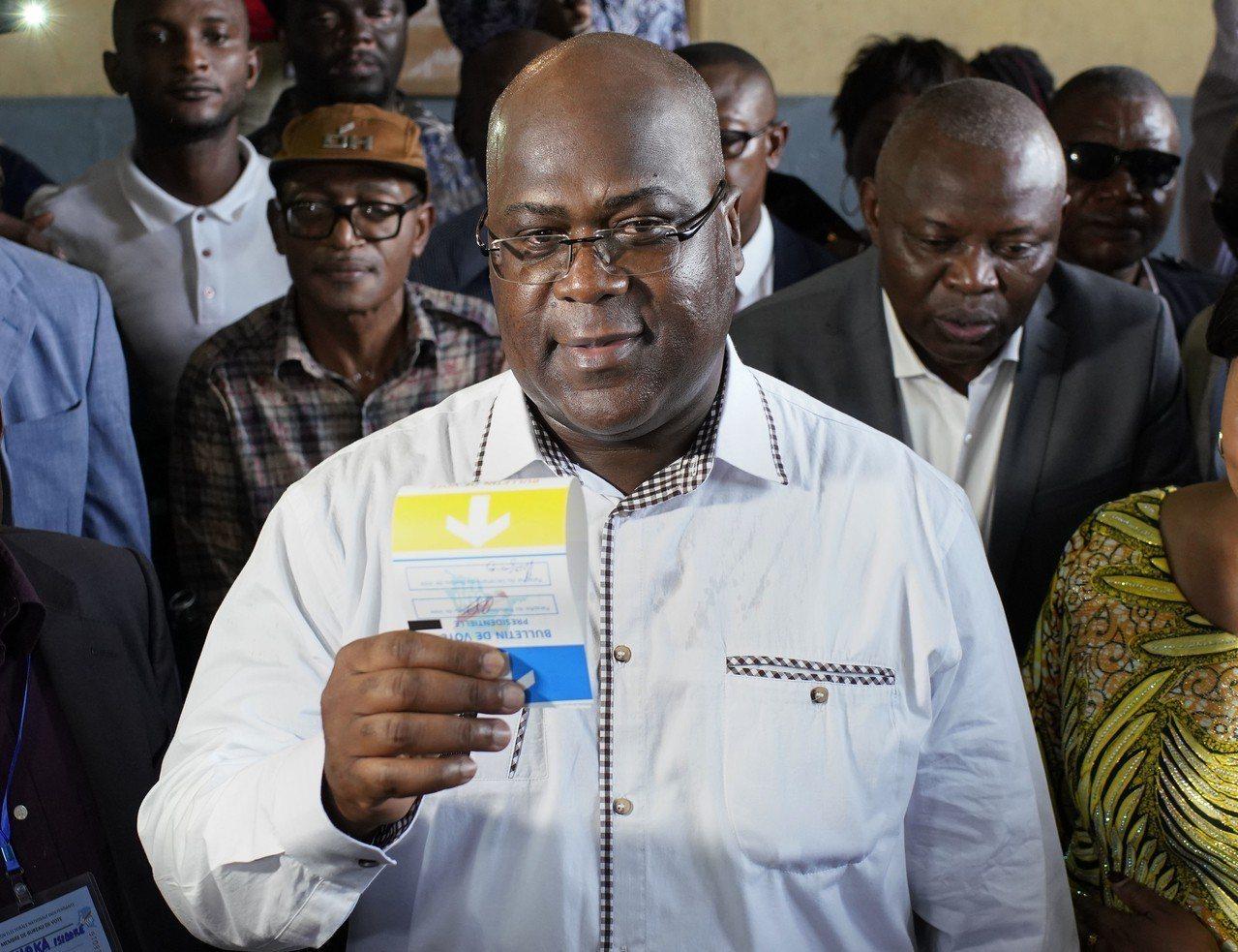 剛果反對黨候選人齊塞克迪(Felix Tshisekedi)已在總統大選中獲勝。