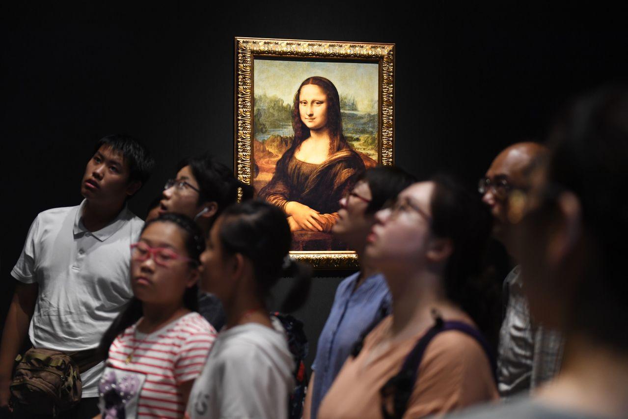 經典名畫「蒙娜麗莎」(Mona Lisa)。 法新社