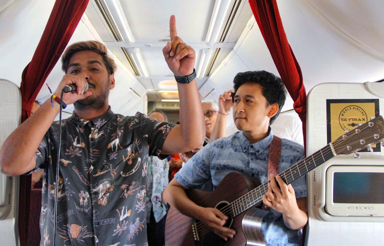 印尼航空(Garuda Indonesia)在特定國內航線推出空中不插電音樂會服...