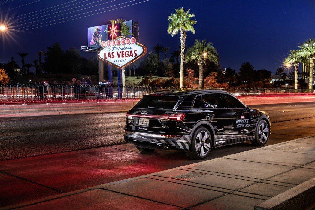 Audi將e-tron轉變為提供車主各式隨選服務的休閒場域,賦予乘客額外的第25個小時,使之在時間上的運用能擁有更多彈性與自由。 圖/台灣奧迪提供