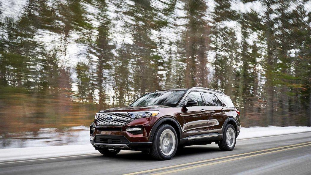 福特六和預計將在今年底進口導入第六代Ford Explorer。 摘自Ford