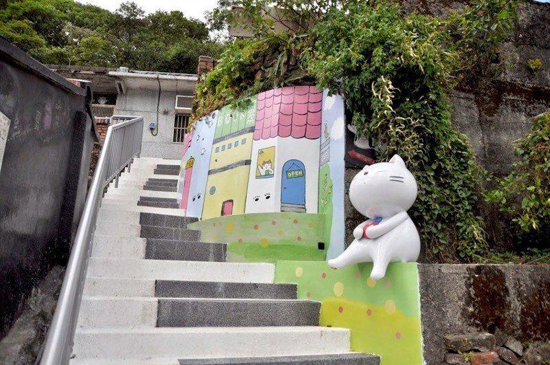 貓村。圖/瑞芳區公所提供