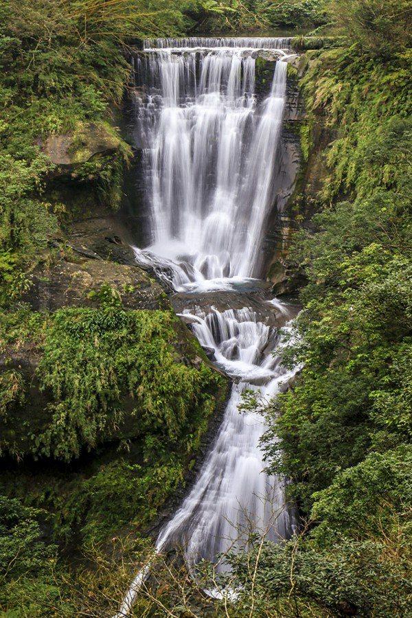 三層瀑布。圖/瑞芳區公所提供