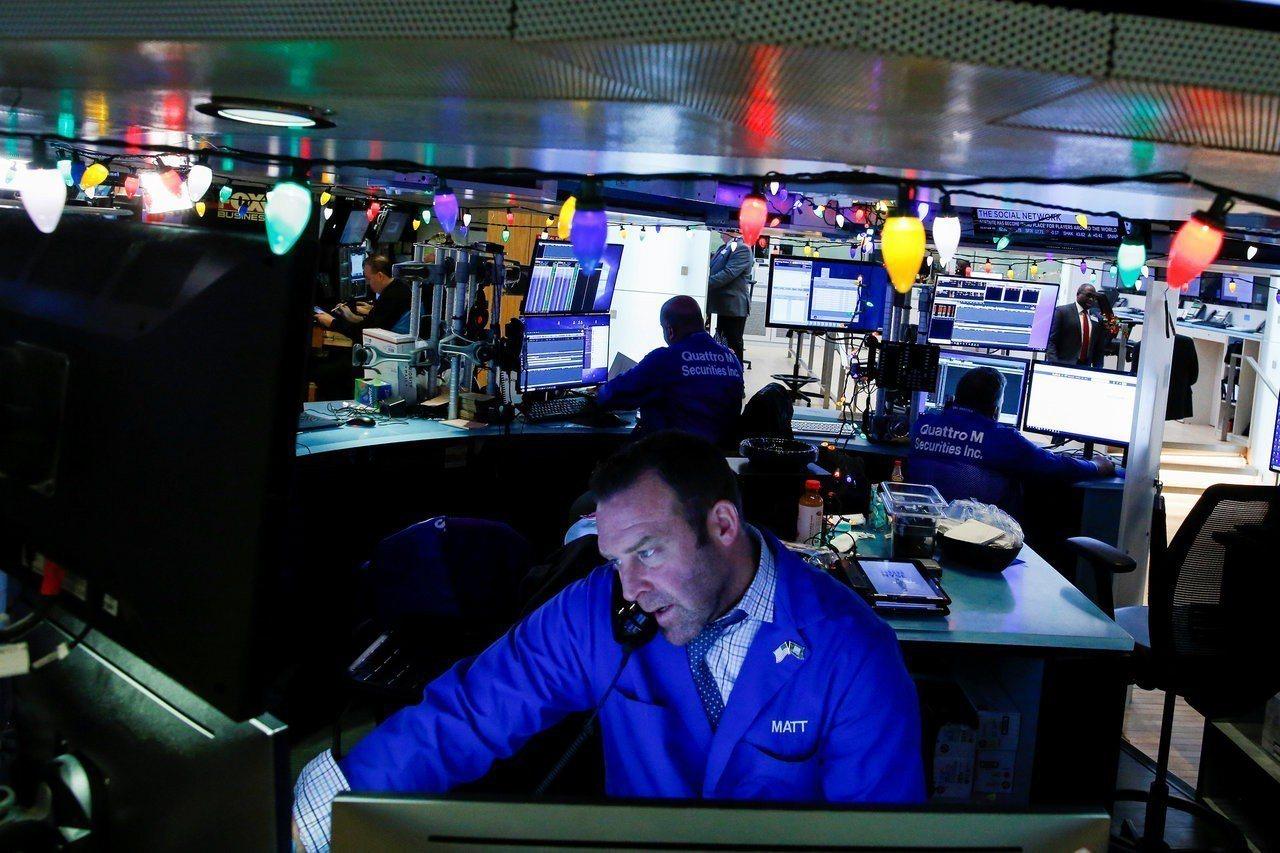 貿易爭端影響全球經濟成長的疑慮緩解,美股四連漲。