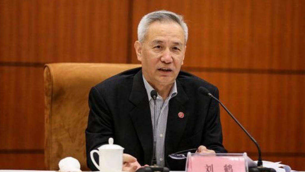 大陸國務院副總理劉鶴突然出現在中美經貿談判的會場。(法廣)