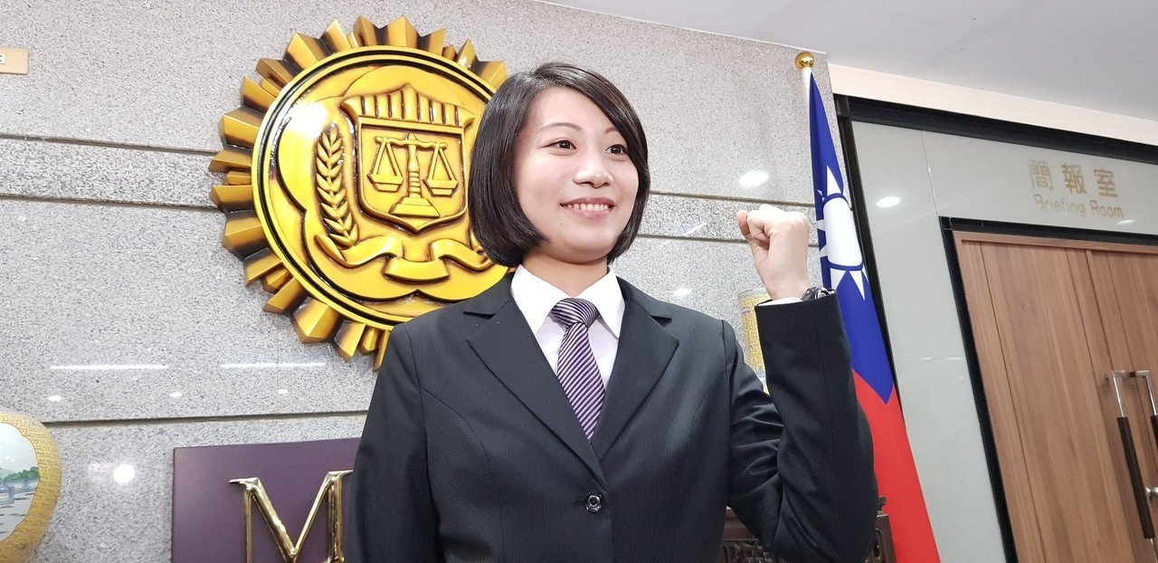 調查局新血郭建容,她姊姊是台北地檢署檢察官郭建鈺。記者張宏業/攝影