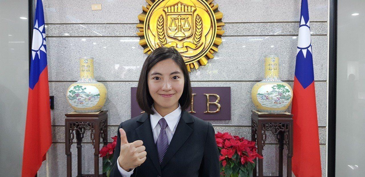 具有律師資格的林婉瑜,外型亮麗,是本期最吸睛的「嬌點」。記者張宏業/攝影
